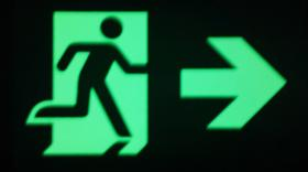 Photoluminescent safety signs from JALITE